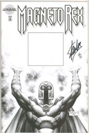 Magneto Rex #1 Dynamic Forces Authentix Edition Signed Stan Lee DF COA Ltd 35 Marvel comic book